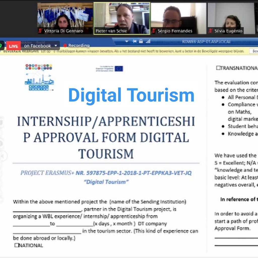 Digital Tourism : Work Based learning