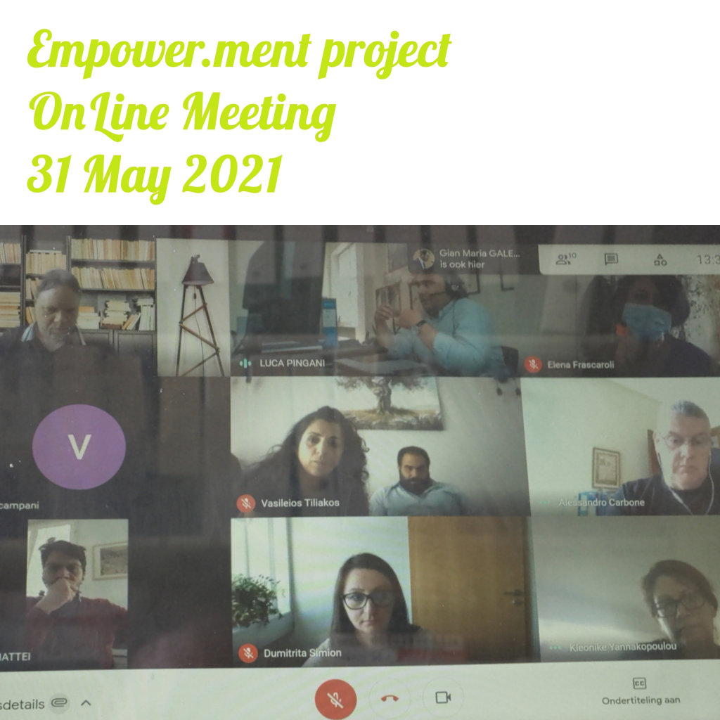 Empower.Ment Partnership OnLine Meeting May 25th 2021