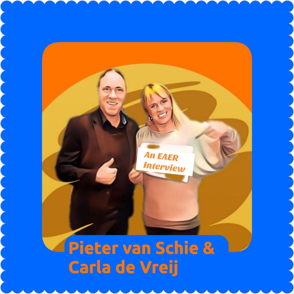 Pieter van Schie and Carla de Vreij