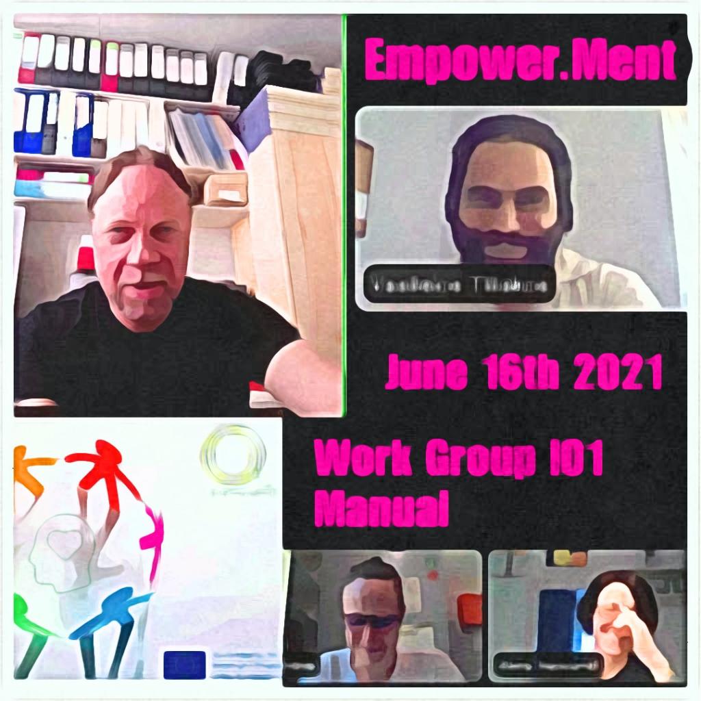 Work Group Meeting 16th June 2021
